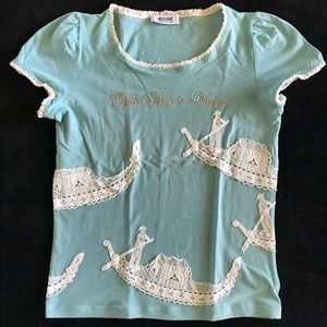 Moschino cheap and chic blouse size small